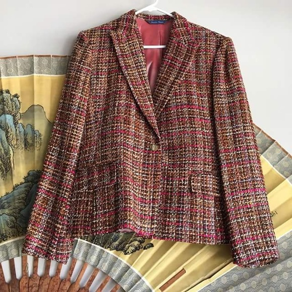 Austin Reed Jackets Coats Austin Reed Tweed Blazer Poshmark